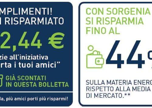 Passa a Sorgenia – Scopri tutti i vantaggi  60€ per te se usi il Codice Amico